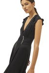Ba&sh Coralie Black Dress