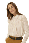 Ba&sh Heiko White Blouse