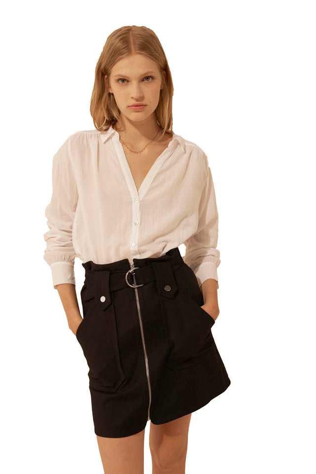 Ba&sh Tamara White Shirt