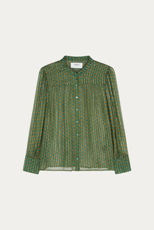 Bash Wize Green Shirt