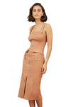 Finders Utility Dress in Tan