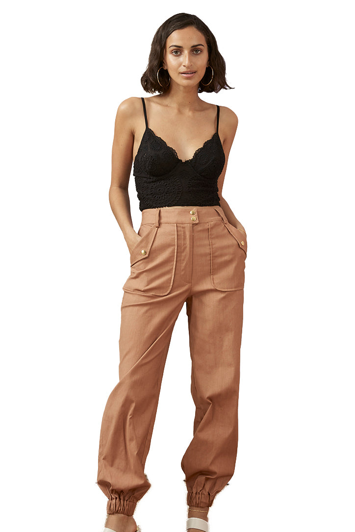 Finders Utility Pant in Tan