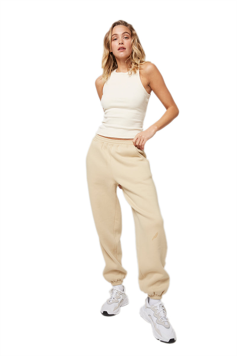 Atoir Track Pant in Oatmeal