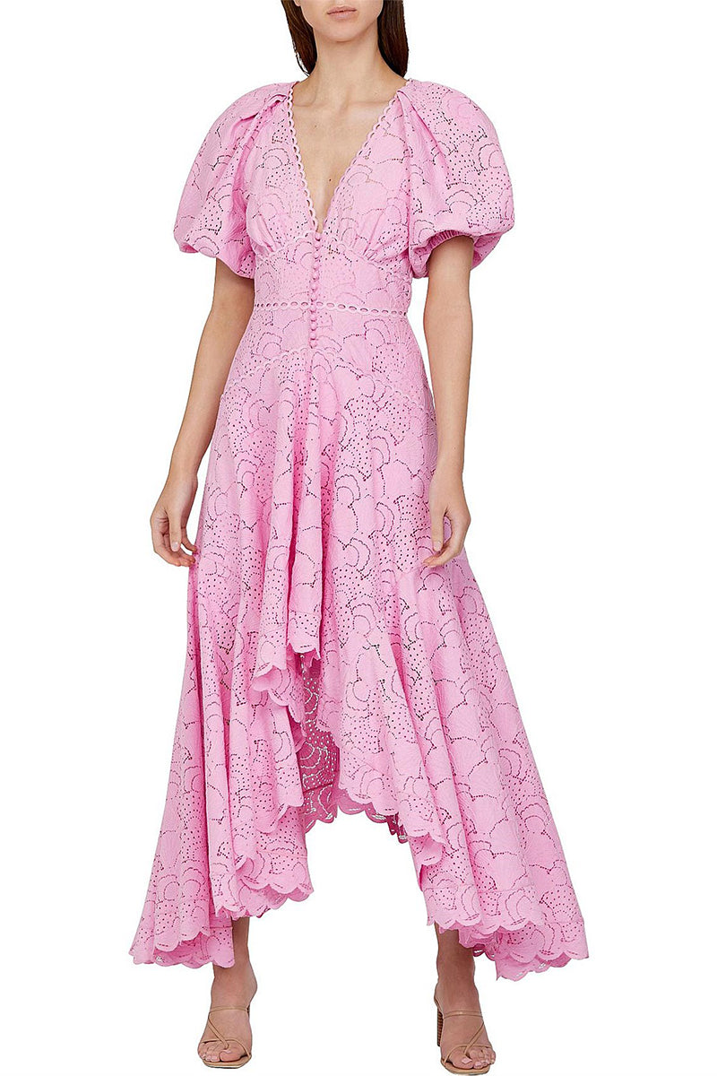 Acler Cookes Dress in Taffy Pink