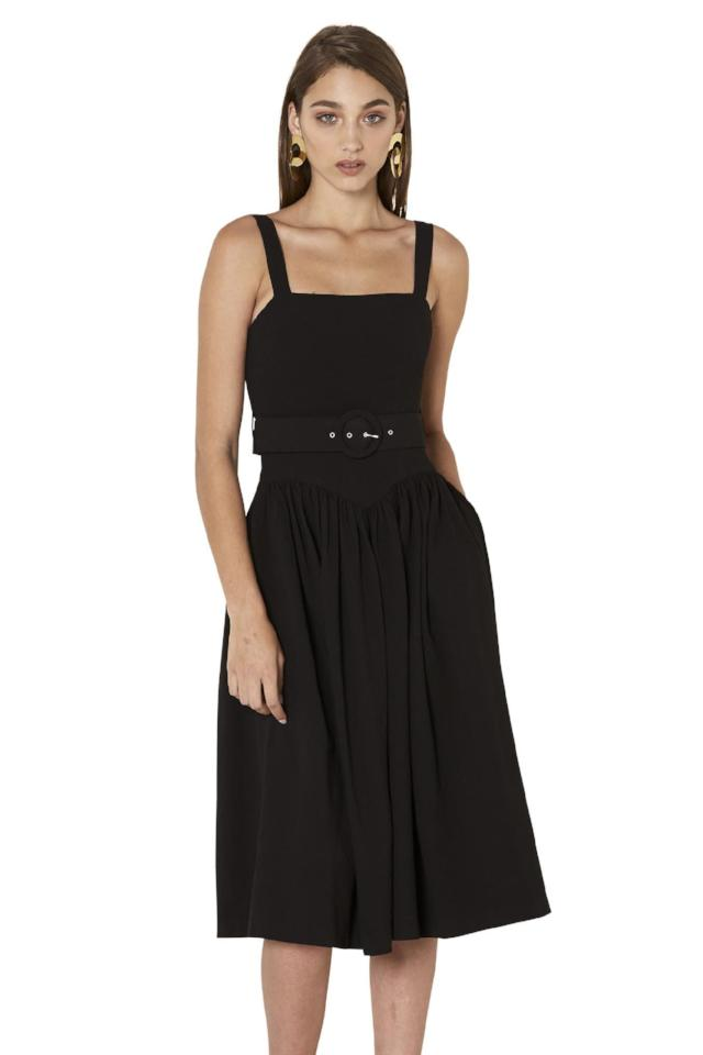 By Johnny Pocket Me Sun-Dress in Black