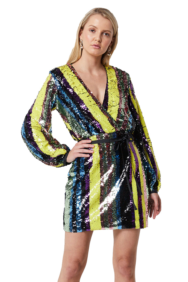 Elliatt Lola Dress in Multi
