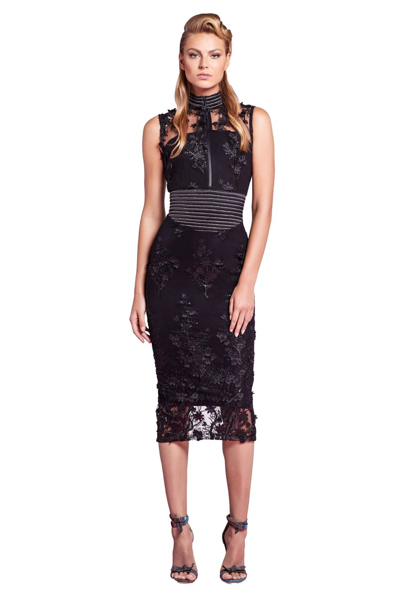 Zhivago Mulwala Dress in Black