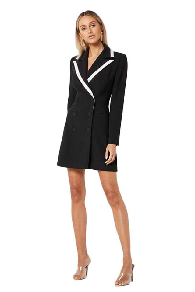 Elliatt Kenzie Blazer Dress in Black
