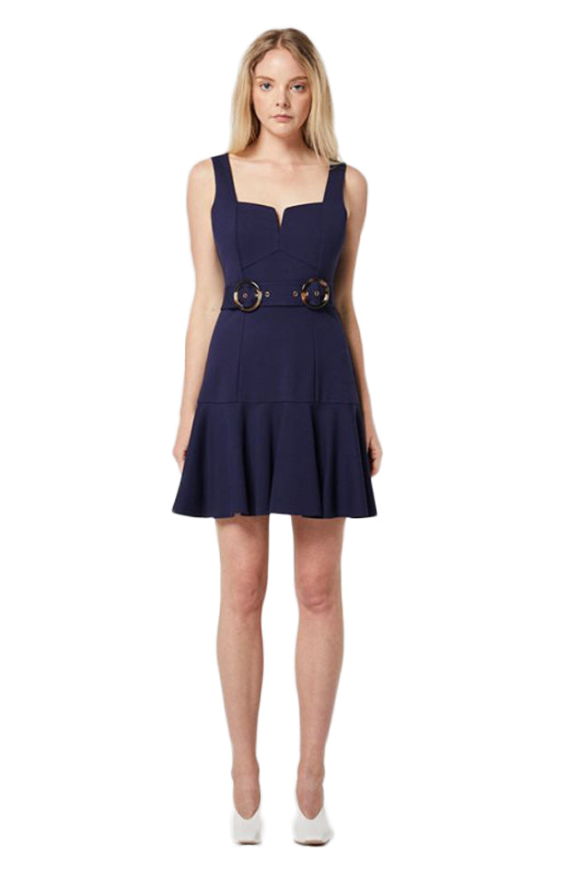 Elliatt Range Dress in Navy