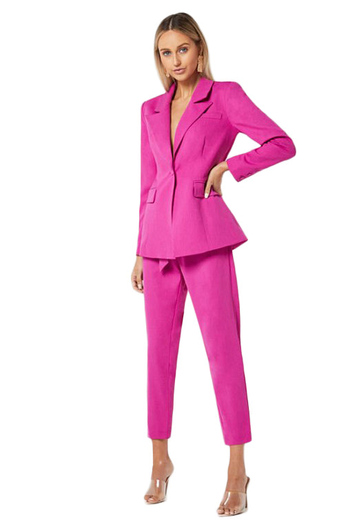 Elliatt River Blazer & Pant Set in Orchid