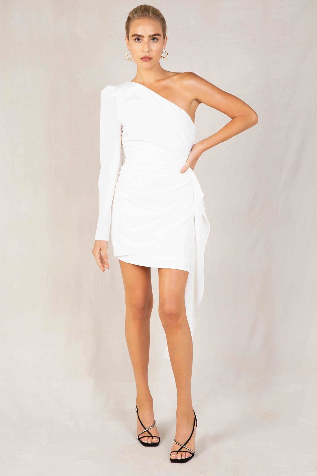 Misha Elsa Dress in Ivory