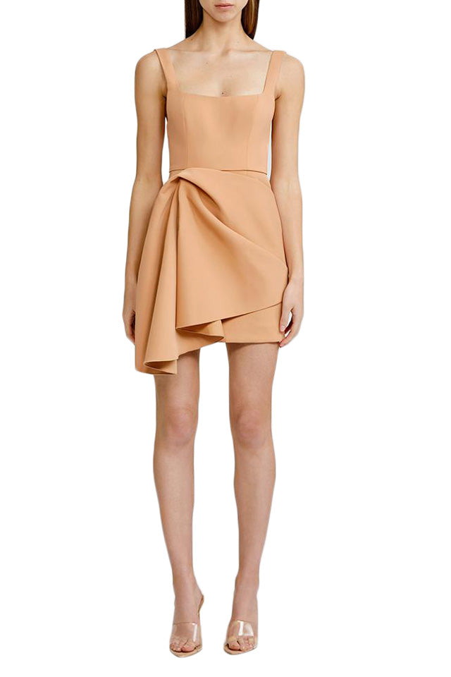 Acler Clarke Dress in Nude