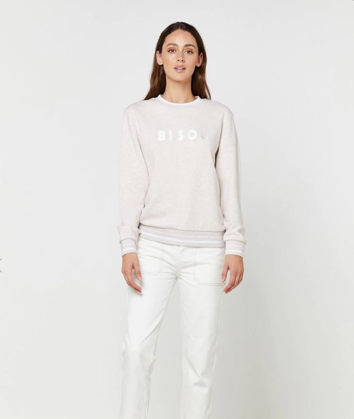 Elka Collective Bisou Sweater in Pink