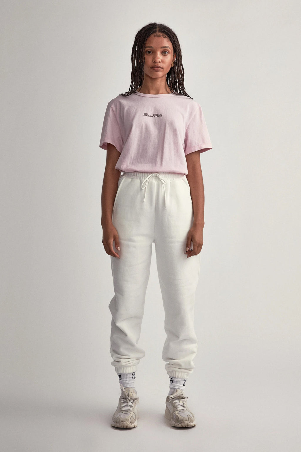 Camilla and Marc Rossi Tee in Ice Pink
