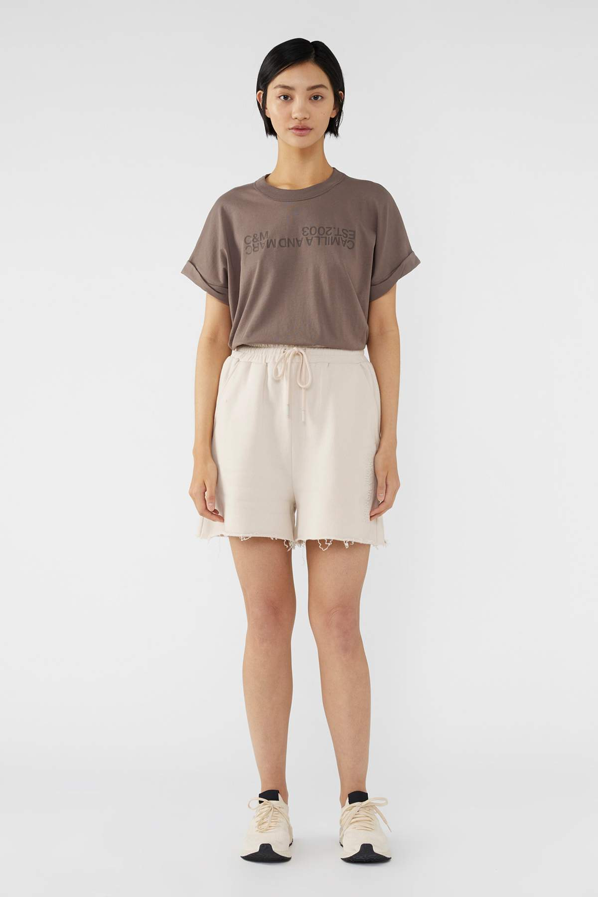 Camilla and Marc Huntington 2.0 Tee in Ash