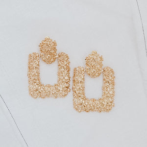 Sable & Dixie Luna Gold Earrings