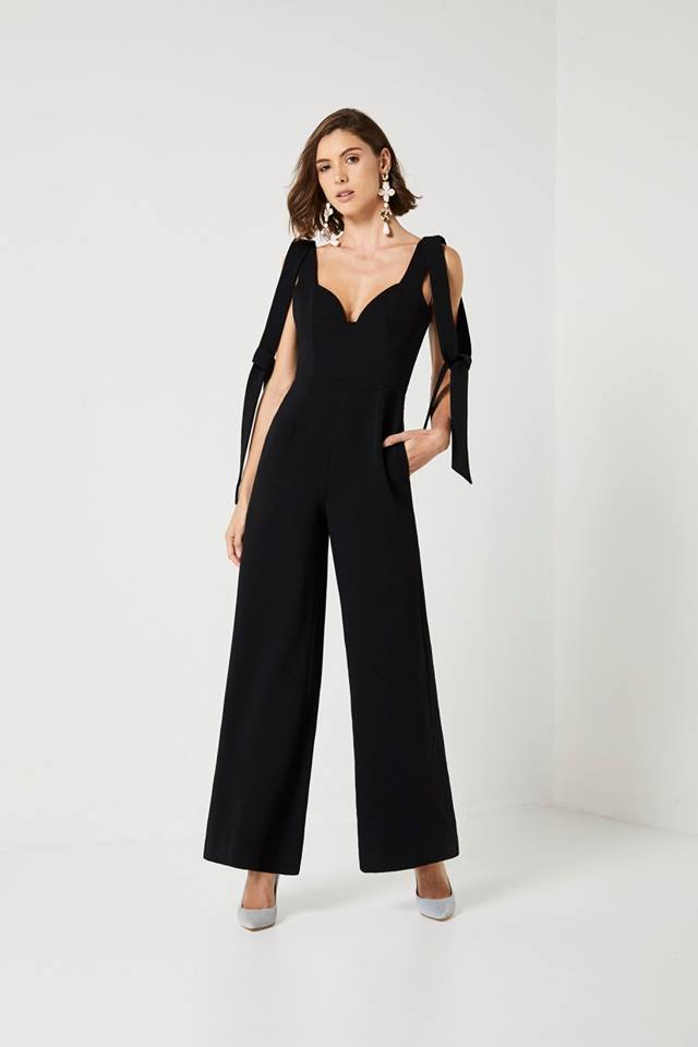 Elliatt Ellen Jumpsuit in Black