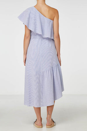 Elka Siena Dress in Blue Stripe