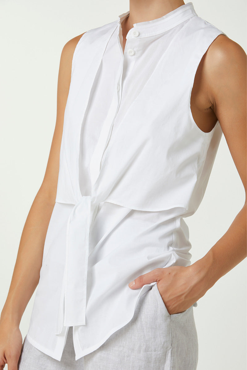 Elka Cara Top in White