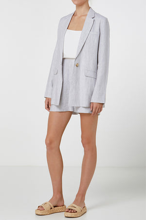 Elka Florence Blazer in Natural