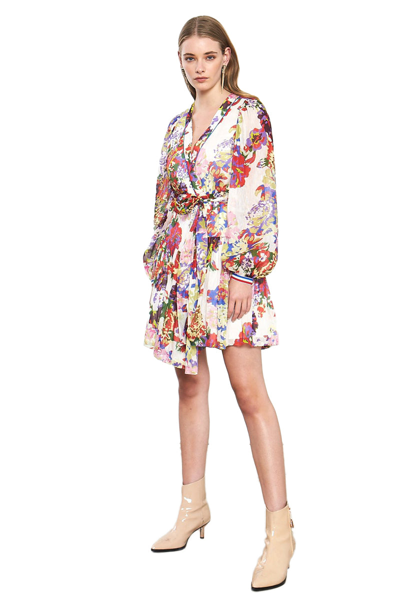Ginger & Smart Arcadian Wrap Dress in Ivory