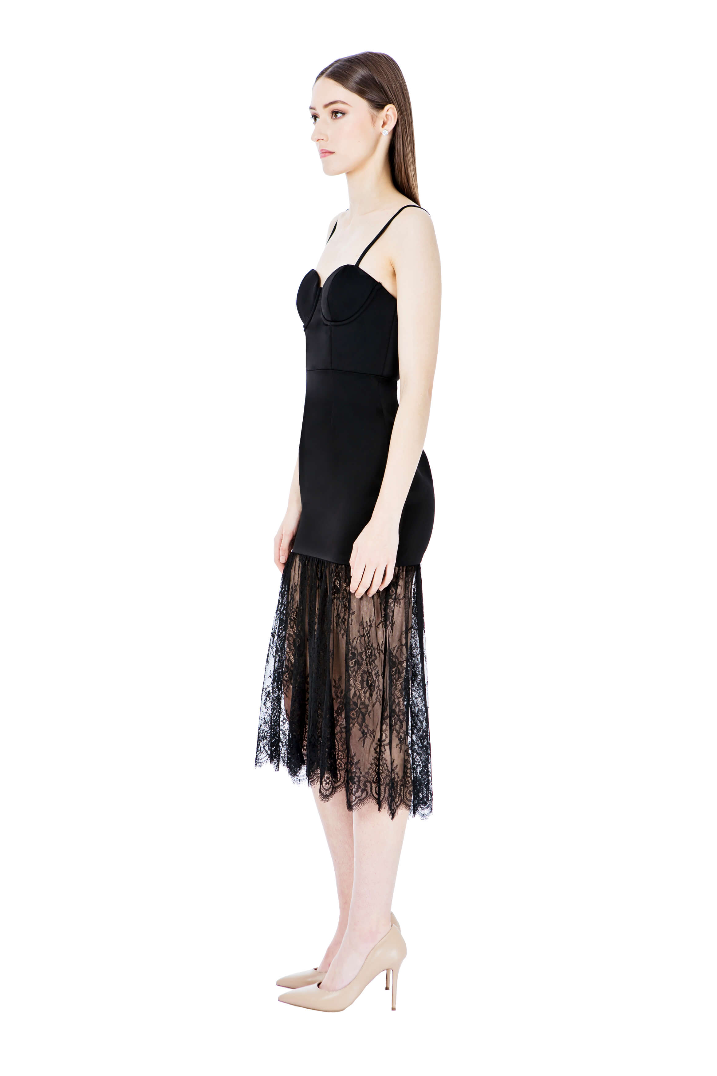 Georgy Collection Isabella Dress in Black