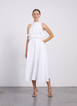 Joslin Sasha Dress in Optical White