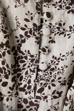 Elka Belmond Top in Cocoa Print