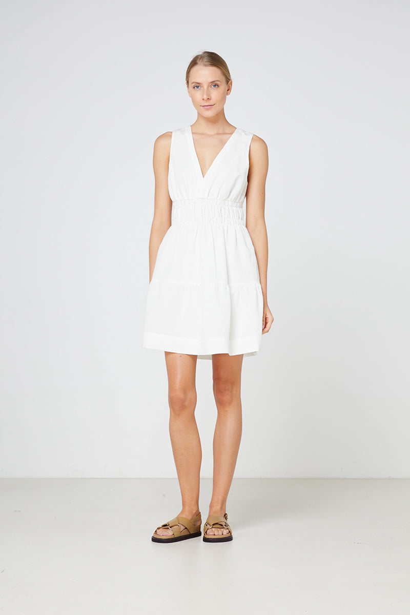 Elka Lazio Dress In Ivory
