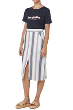 Elka Tori Skirt in Stripe