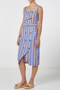 Elka Anne Dress in Stripe