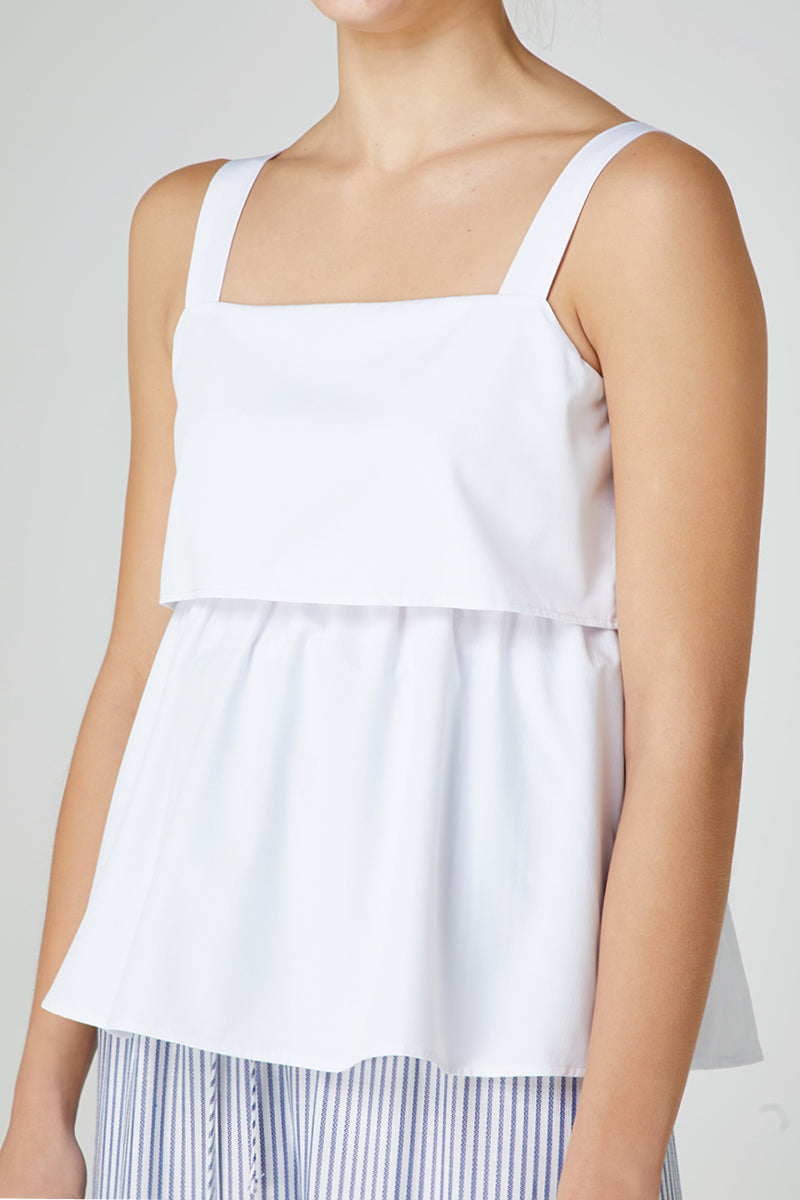 Elka Adrienne Top in White