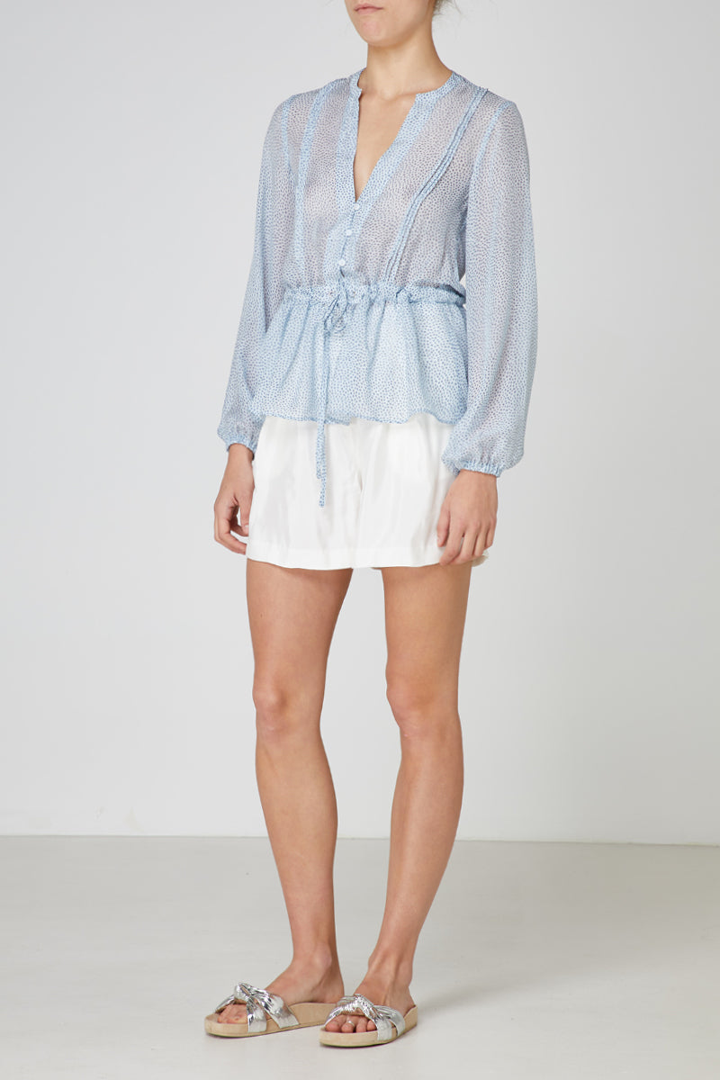 Elka Sorrento Top in Blue Dot