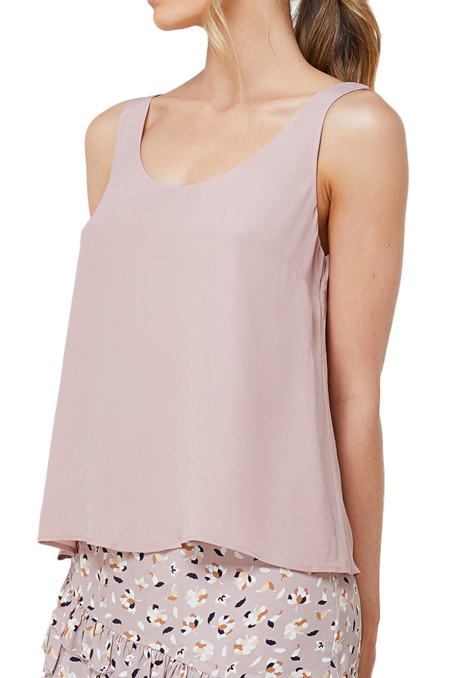 Elka Abella Tank in Dusty Mauve
