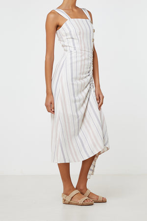 Elka Lea Dress in Stripe