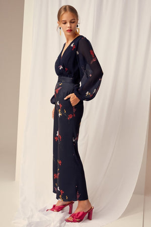 Keepsake Told You Pant in Navy Floral