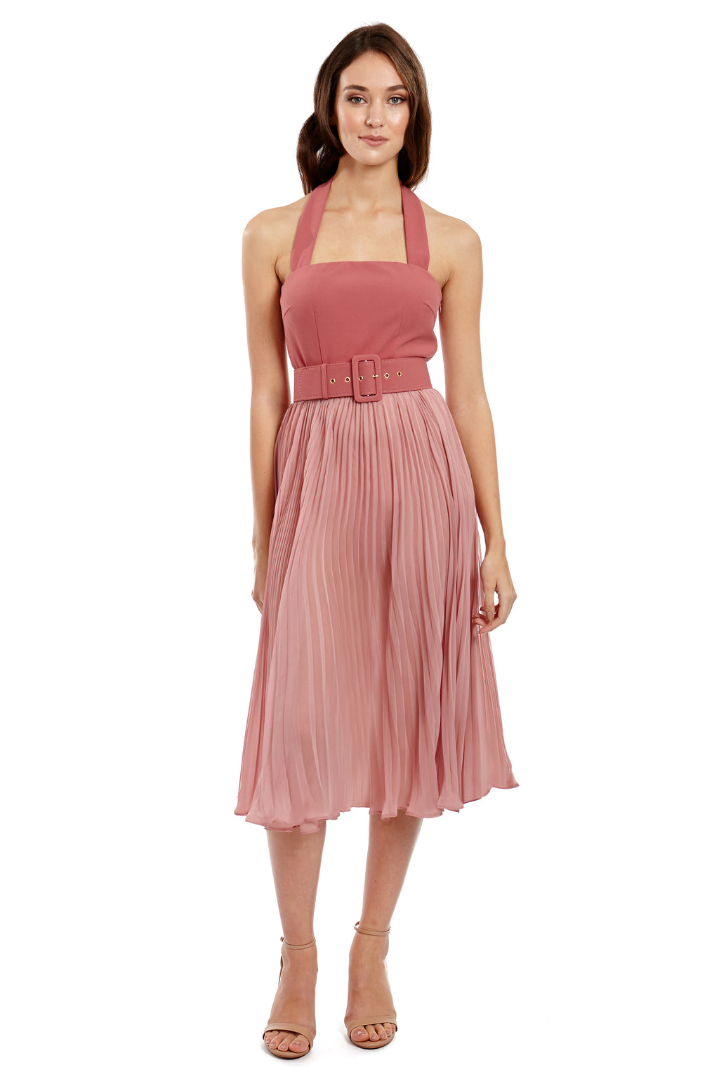 Georgy Marilyn Dress in Pink