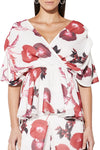 Mossman Make You Mine Top in Poppy Print