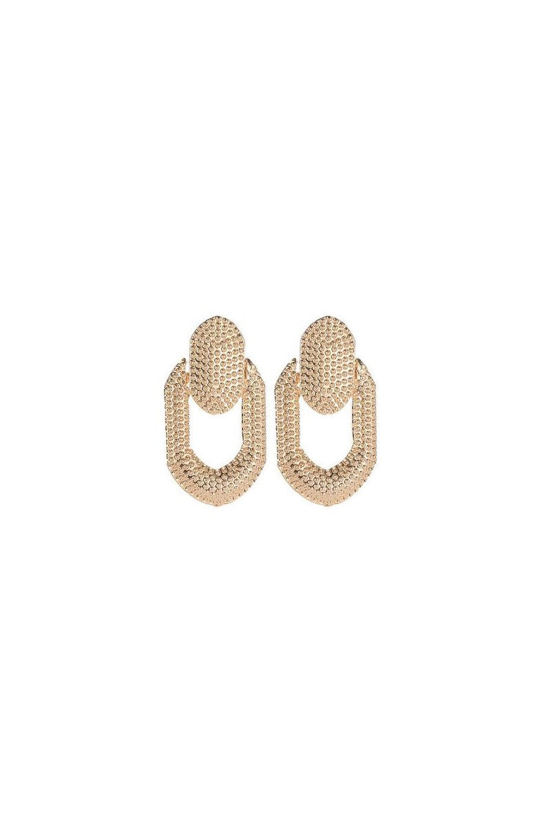 Kate Wilson Rosie Drop Earring in Gold