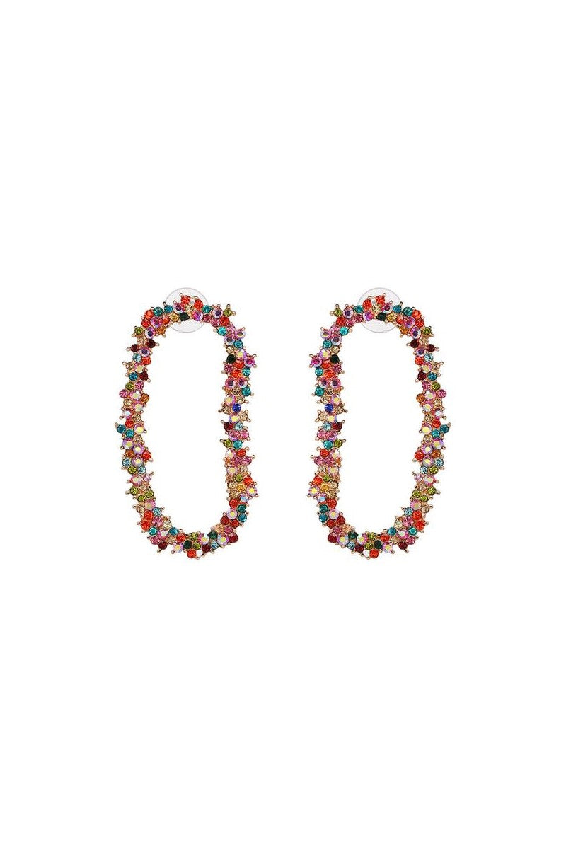 Kate Wilson Poppy Earring in Multi Colour