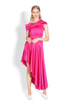 Nicola Finetti Mira Dress in Hot Pink