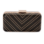 Olga Berg Riannah Studded Pod Bag