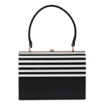 Olga Berg Lucile Acrylic Top Handle Bag