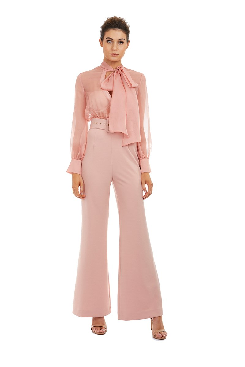 Georgy Olivia Pantsuit in Pink