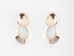 Peter Lang Ras Gold Earrings