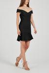 Rebecca Vallance Anise Mini Dress in Black