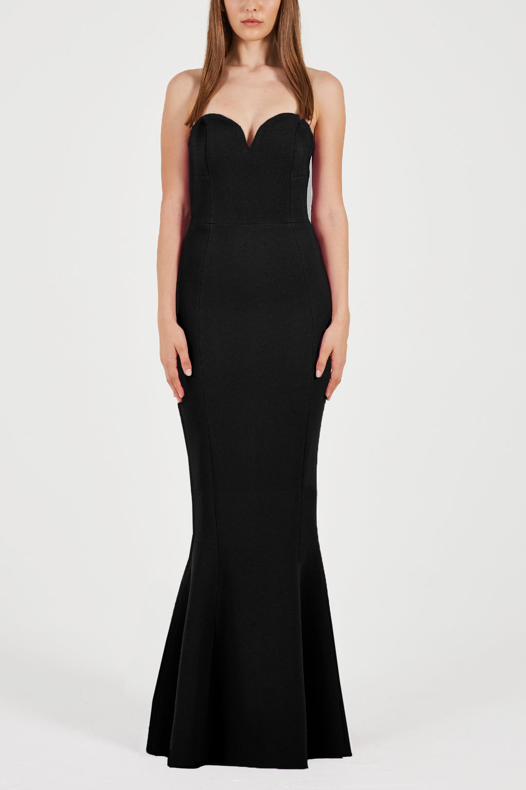 Rebecca Vallance Dahlia Gown in Black