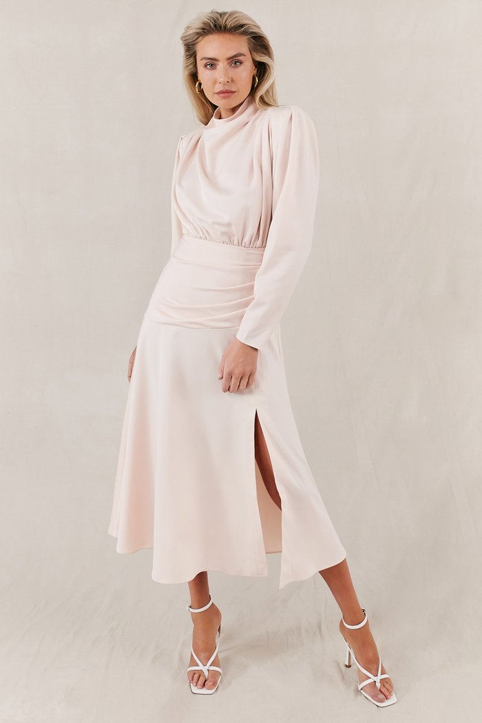 Misha Simona Dress in Blush