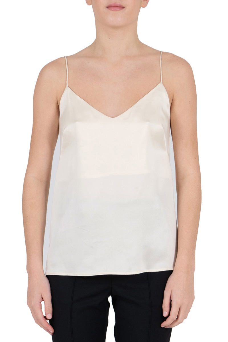 Rebecca Vallance Sophia Silk Cami in Ivory