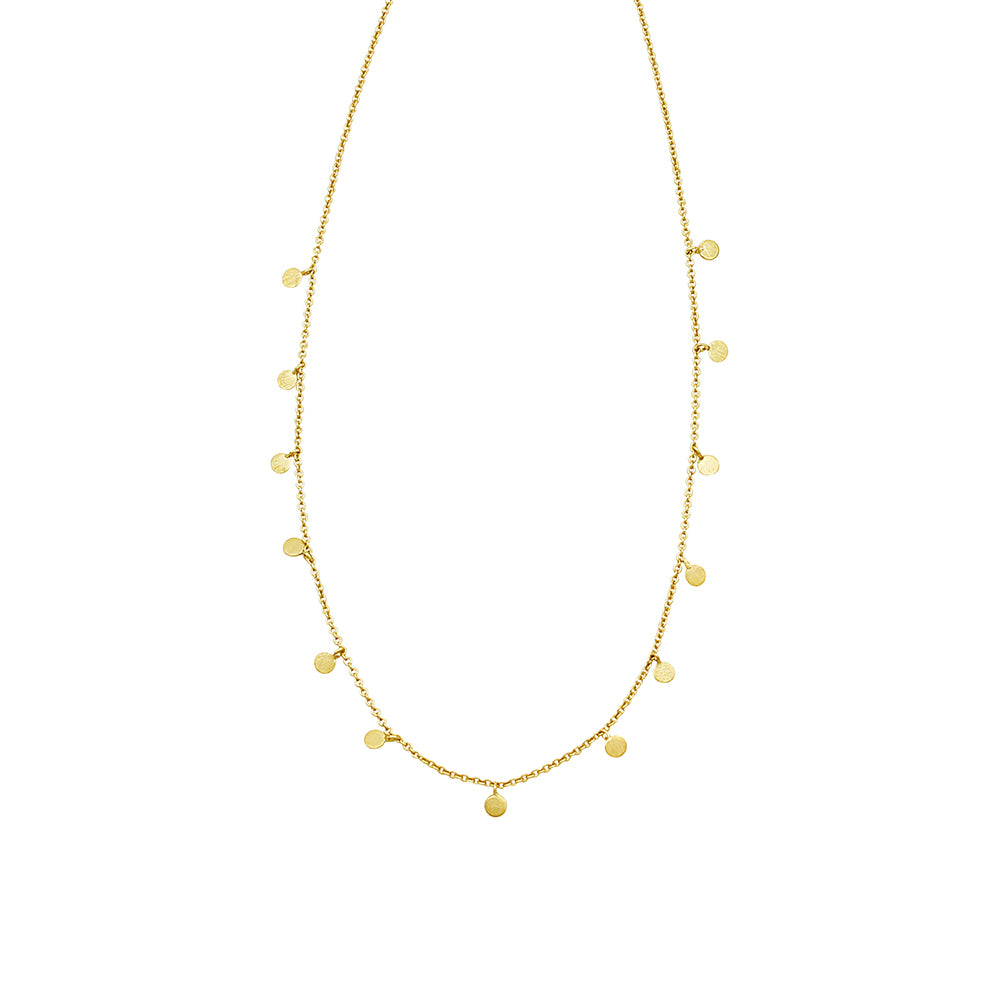 Jolie & Deen Olive Gold Necklace
